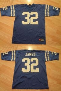 Men's Indianapolis Colts Edgerrin James L Jersey Nike (Blue) Jersey