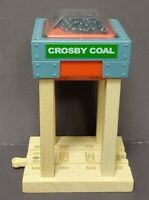 THOMAS & FRIENDS WOODEN RAILWAY CROSBY COAL STATION 2012 THOMAS LIMITED MATTEL