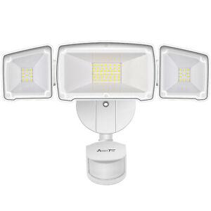 35W 3500LM Motion Sensor Lights Outdoor ETL Certified LED Security Flood Lights