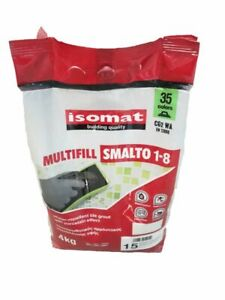 ** SALE ON ALL COLOURS** ISOMAT GROUT MULTIFILL SMALTO - 1-8mm