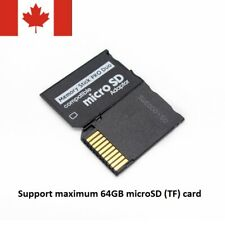 Sony and PSP Series Micro SD SDHC TF to Memory Stick MS Pro Duo PSP Adapter