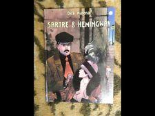 Dick MATENA Sartre & Hemingway, Arboris Bd'Elite 1, 1993 (ancien stock NEUF)