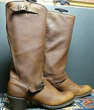 Women's Stetson Oiled Harness Leather Field Boot Sz 11M Excellent!