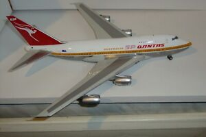 RARE INFLIGHT200 1/200 QANTAS BOEING 747SP VH-EAA NEW NEVER DISPLAYED