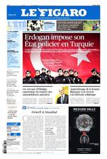 Le Figaro 25/8/2017*ORWELL à ISTANBUL*MACRON attaqué*Franz Liszt:LE CONCERT cMOI