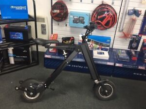 Mini City Comutter Foldable Portable Electric Sit On Scooter ex-display