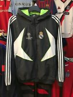 Men's Real Madrid track top jacket size M Champion League Adidas