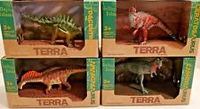 Terra by Battat Dinosaurs - 4 Box Dino Lot - NEW - Dan LoRusso Collection