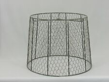 "Albert Estate LTD, 13"" Wire Shade"