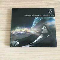 Eduardo De Crescenzo _ La Vita è Un'Altra _ CD Album digipak _ 2002 B&G