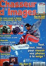 Chasseur d'Images 201 Canon LX 1 - E Boubat - Nikon 80-200 - photo la neige