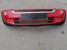 BMW MINI COOPER ONE R50 R52 R53 2001-2008 FRONT BUMPER- IN RED - CODE - 851/3
