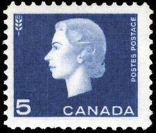Canada    # 405    QUEEN ELIZABETH II CAMEO ISSUE  Brand New 1963 Pristine Issue