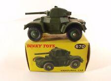 Dinky Toys GB n°670 Armoured car tank jamais joué never played en boîte