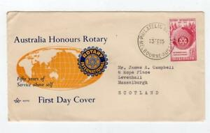 AUSTRALIA: 1955 Rotary International First Day Cover (C36307)