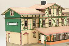 1870 Bahnhof Eisfelder Talmühle H0 Lasercut-Bausatz neu und OVP