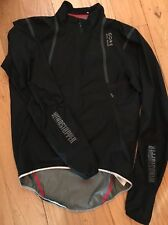 Gore Bike Wear WindStopper Active Shell Light Cycling Jacket Black large