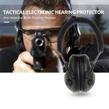 Foldable Electronic Hearing Protector Noise Canceling Shooting Tactical Headset