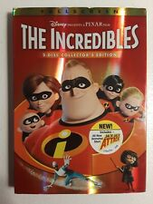 The Incredibles 2 Disc Collectors Edition.