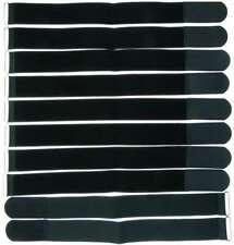 Velcro Forte Heavy Duty autoadesivo bastone su nastro larghezza 50mm Nero Bianco