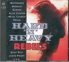 Hard 'n' Heavy Rebels (1994, Columbia/Sony) Alice Cooper, Judas Priest,.. [2 CD]