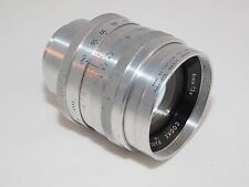 "Cooke Panchrotal 4"" f/2.5 vintage telephoto lens in C-mount. Serviced. Sony A7r."