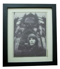 More details for iron maiden+photo+picture+poster+ad+rare original 1988+framed+fast global ship