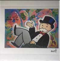 Alec Monopoly- Lithographie signée - numérotée