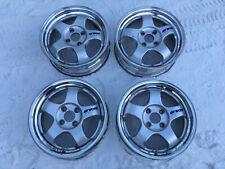 Original wheels Work Meister S1 15' 5.5J +31 +42  4 holes PCD100 Rims Japan