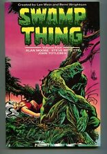 Swamp Thing Volume 4 TPB British Titan Books 1st Printing Alan Moore CBX11A