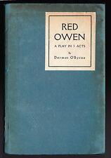 Dermot O'Byrne (Sir Arnold Bax) - Red Owen - 1st/1st 1919 - Very Scarce
