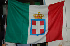 Bandiera Sabauda 100x150ca. pongè