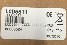 New Tyco Dsc Lcd-5511 64 Zone Icon Legend Keypad