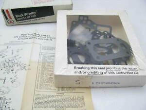 For 1980 Subaru GL Carburetor Repair Kit Walker 77168XH
