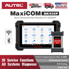 Autel MaxiCOM MK908P MS908P OE-level J2534 Key Coding Diagnostic OBD2 Scanner