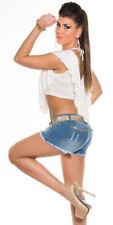 Damenblusen, - tops & -shirts aus Baumwolle und Stretch Normalgröße