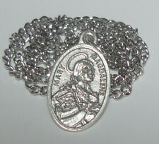 Updated St Mary Magdalene Holy Medal on Chain Pharmacists Beauticians Perfumers