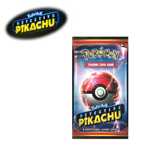 Pokemon TCG Detective Pikachu Booster Pack  Fast Free Shipping