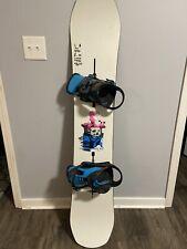 Burton 155cm Killroy Snowboard And Freestyle Binding