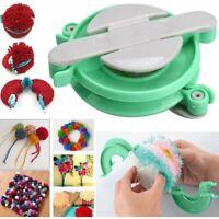 1 x Set 4Pcs Pompoms Maker kit Fluff Ball Weaver Needle Knitting Bobble Tool DIY
