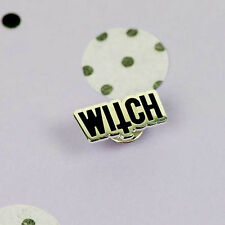 PUNKY PINS WITCH ENAMEL PINS. THE CRAFT. WITCHCRAFT. GOTHIC PIN. HALLOWEEN.