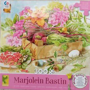 "Caeco MARJOLEIN BASTIN Garden 300p Jigsaw Puzzle 24x18"" 2017 oversized & poster"