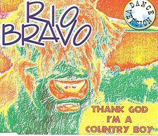 RIO BRAVO Thank God I'm A country Boy / Oh Susanna MIXES & UNPLUGGED  CD Single