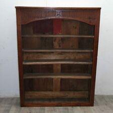 """rustica libreria """"a giorno"""" Luigi XVI 1800 in ciliegio massello con intarsio"""