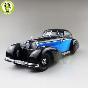 1/18 KK Scale Benz 540K 1938 Diecast Model Car Boy Gifts Black AND Blue