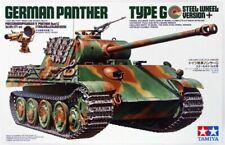 TAMIYA 1/35 Panther Type G Steel Wheel Tank Model Kit Dragon Meng Takom