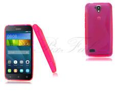 Fundas y carcasas Huawei color principal rosa de silicona/goma para teléfonos móviles y PDAs