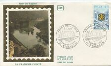 FIRST DAY COVER / 1° JOUR FRANCE / LA FRAMCHE COMTE 1977 BESANCON