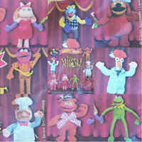 McDonalds Happy Meal Toy 2002 The Muppets TV Show Toys - Various Characters