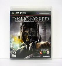 DISHONORED Playstation 3 PS3 Game COMPLETE w/MANUAL 2012
